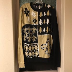 """New Orleans Saints """"Ugly Christmas Sweater"""""""